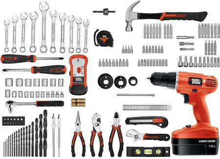 black and decker too kit