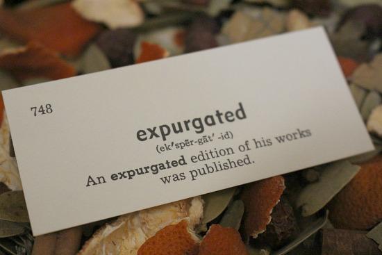 expurgated