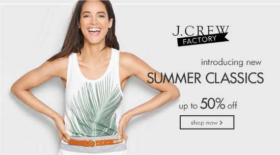 j crew summer classics