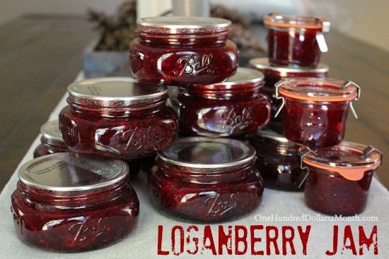 Loganberry Jam recipe