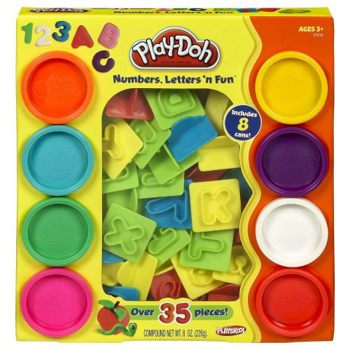 Play-Doh Numbers Letters N Fun Art Toy