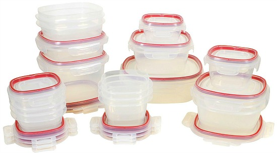 Rubbermaid 34-Piece Easy Find Lid Lock Food Storage Container