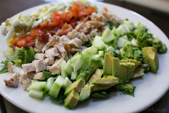 chop cobb salad