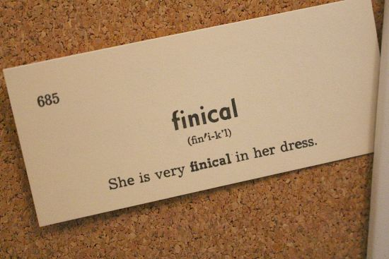 finical
