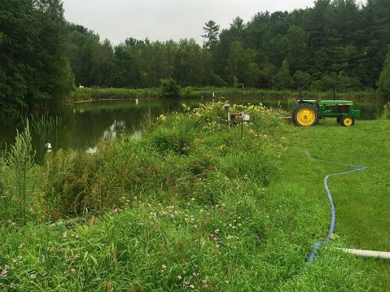 johnnys seed company maine pond tour