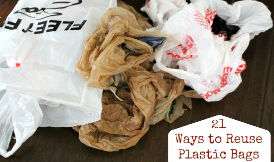 21 Ways to Reuse Plastic Bags