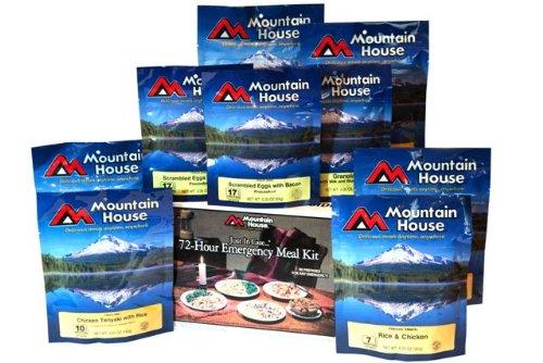 mountain house 72 hour kit