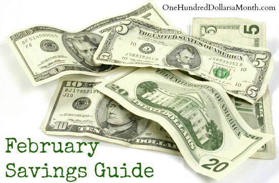 February savings guide
