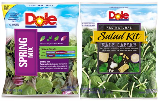 bagged lettuce salad kits