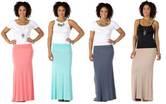 groupon maxi skirt