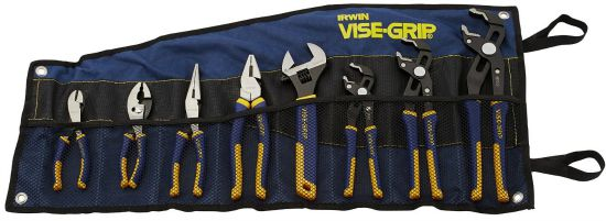 IRWIN Tools VISE-GRIP GrooveLock Pliers Set, 8-Piece