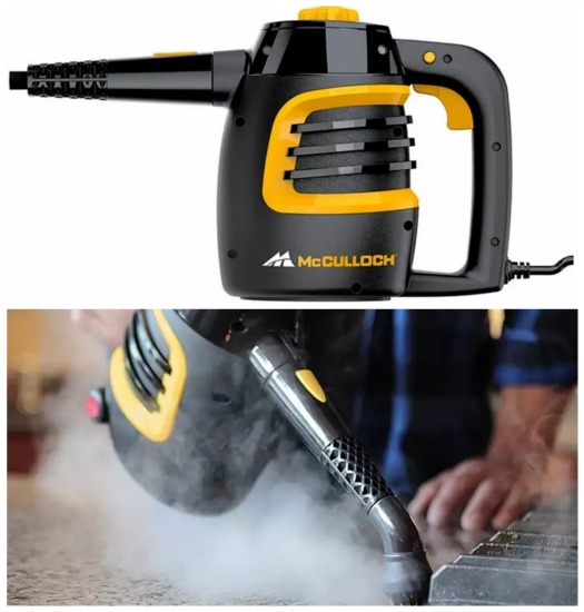 Mc culloch steam cleaner