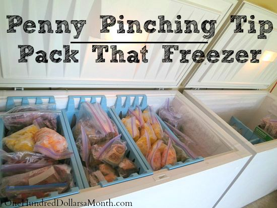 Penny Pinching Tip  Pack That Freezer