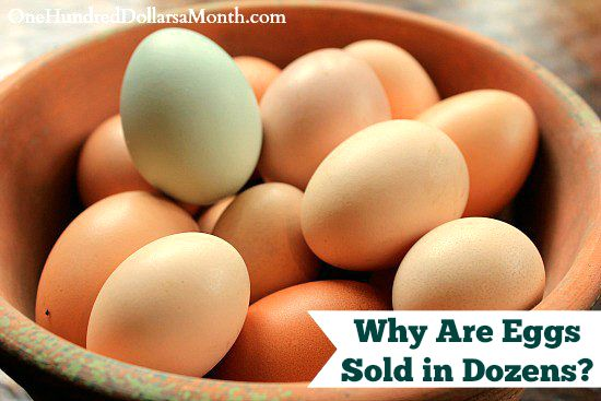 Why Are Eggs Sold in Dozens