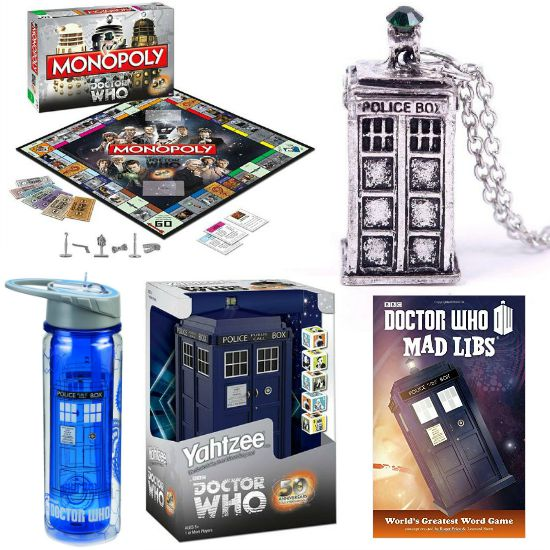 dr who gifts tardis