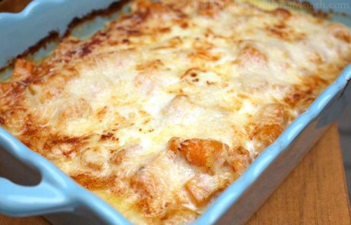 roasted butternut lasagna
