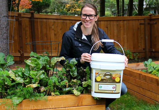 Grab and Go Emergency FoodSupply Bucket