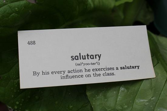 salutary
