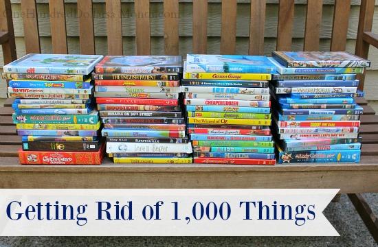 Getting Rid of 1,000 Things