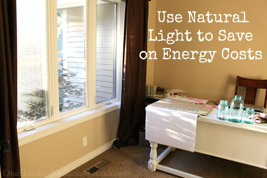 Save On Your Energy Bill By Using Natural Light One