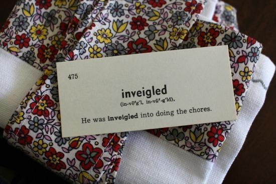 inveigled