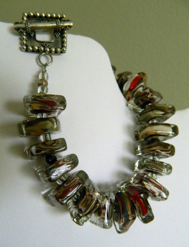 lampbead necklace