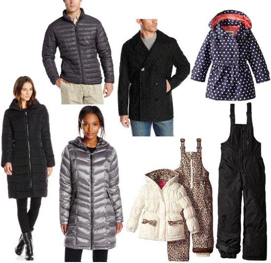 long black puffy coat