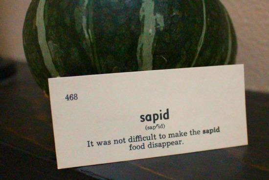 sapid