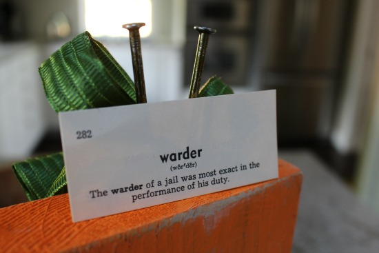 warder