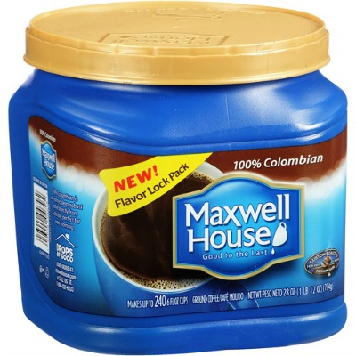 MAXWELL HOUSE Coffee coupon