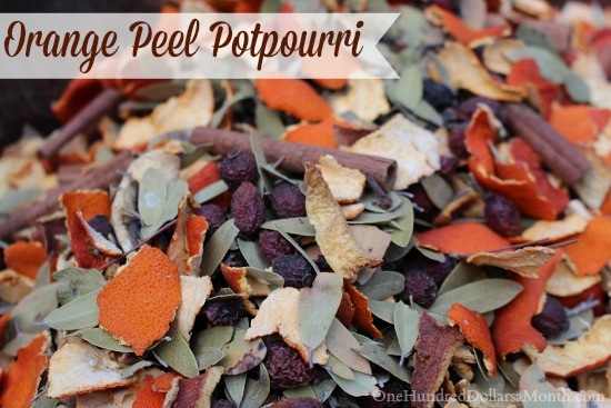 Orange Peel Potpourri Recipe