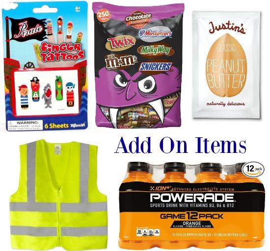 add on items