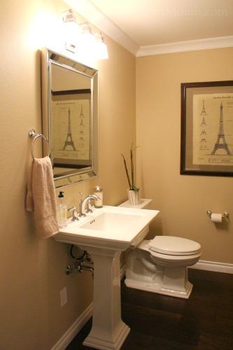 kohler pedestal sink bathroom