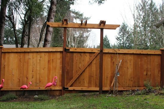 arbor over gate