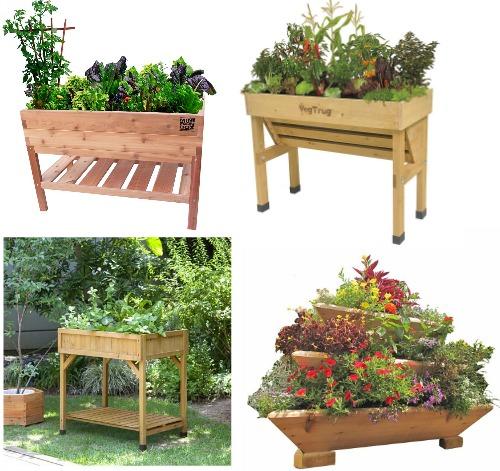 cedar patio planters