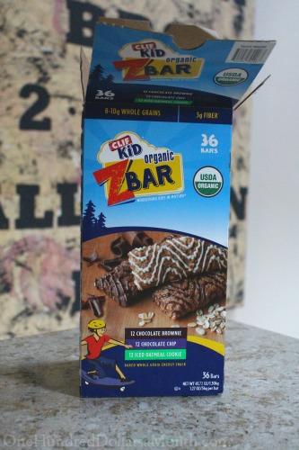 clif bar box