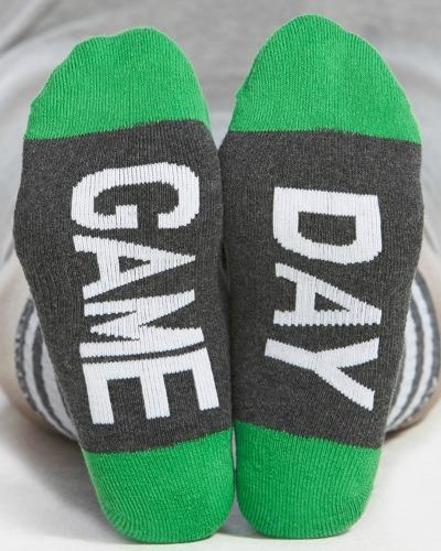 george game day socks