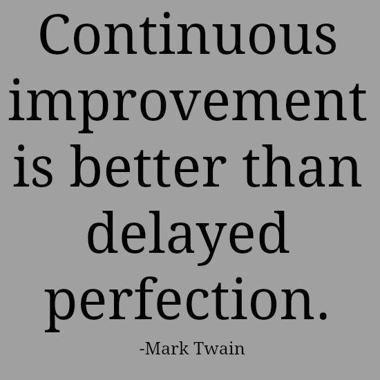 quotes - continuous improvement