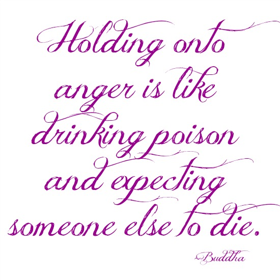 quotes - holding onto anger