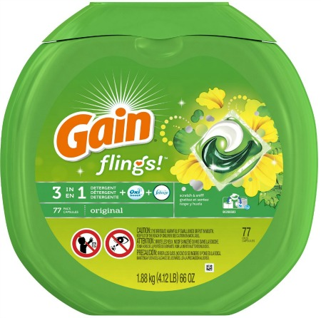 Gain Flings coupons