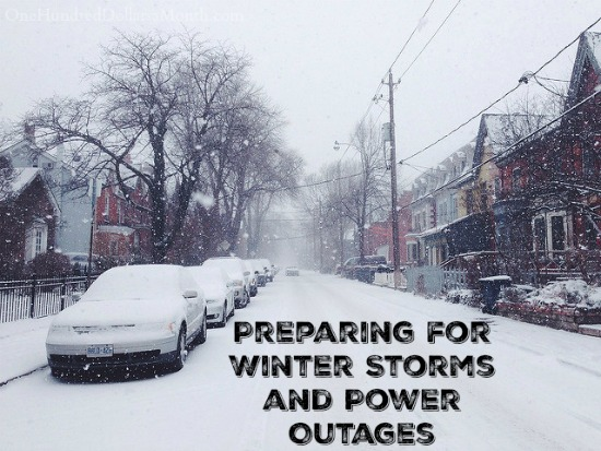 Preparing for Winter Storms and Power Outages