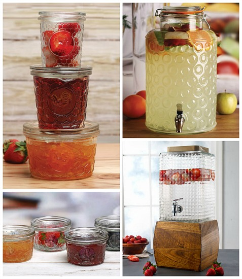 rooster canning jars