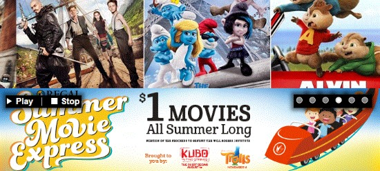 summer movie express