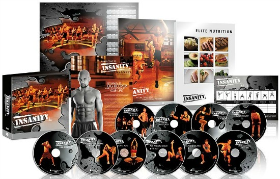 INSANITY and Beachbody DVD Workouts