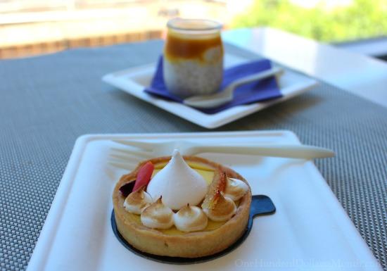 lemon tart french pastries