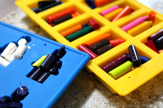 make your own lego crayons