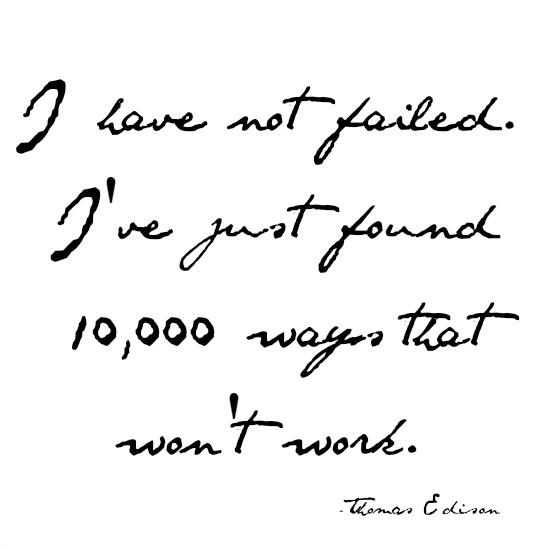 quotes - i have not failed