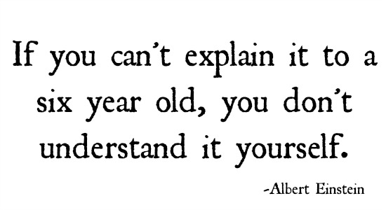 quotes - if you cant explain