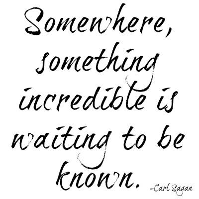 quotes - somewhere something