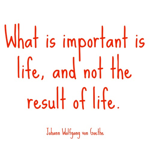 quotes - what is important